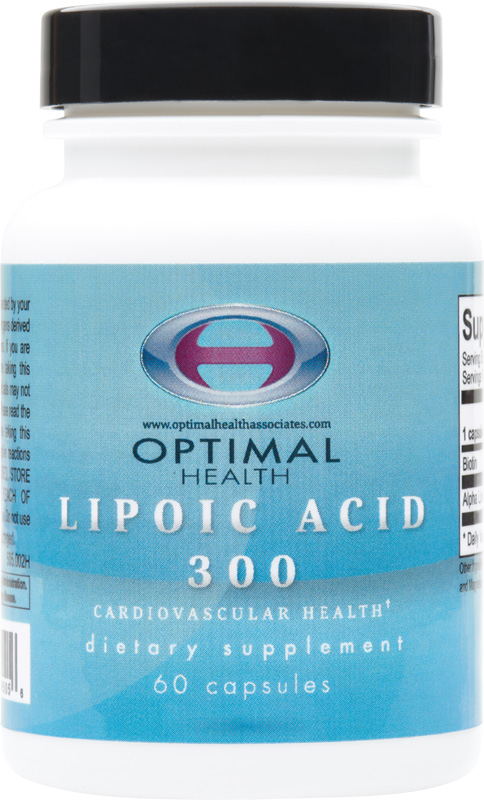 Lipoic Acid - 300mg<br/>60 count