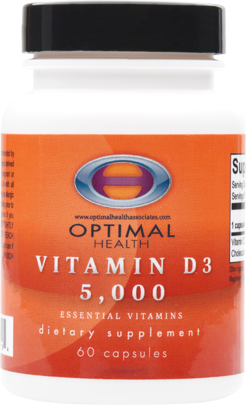 Vitamin D3 5,000ui<br/>60 count