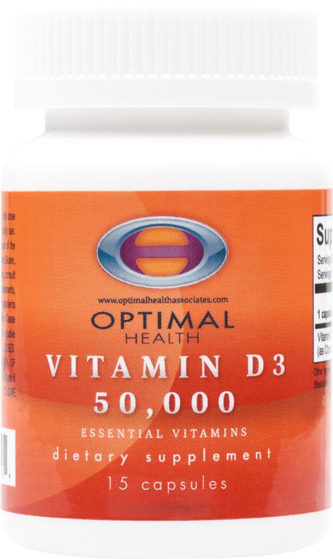 Vitamin D3 50,000<br/>15 tabs