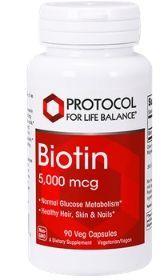 Biotin 5,000mg