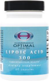 Lipoic Acid - 300mg<br/>60 count